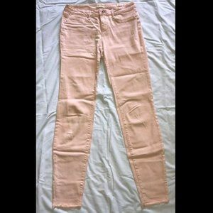 Jessica Simpson Rolled Skinny Jeans, Peach